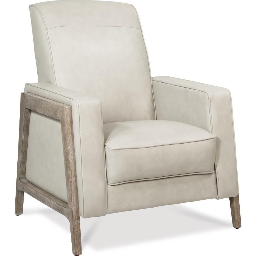 Mid Century Modern Press-Back Reclining Chair