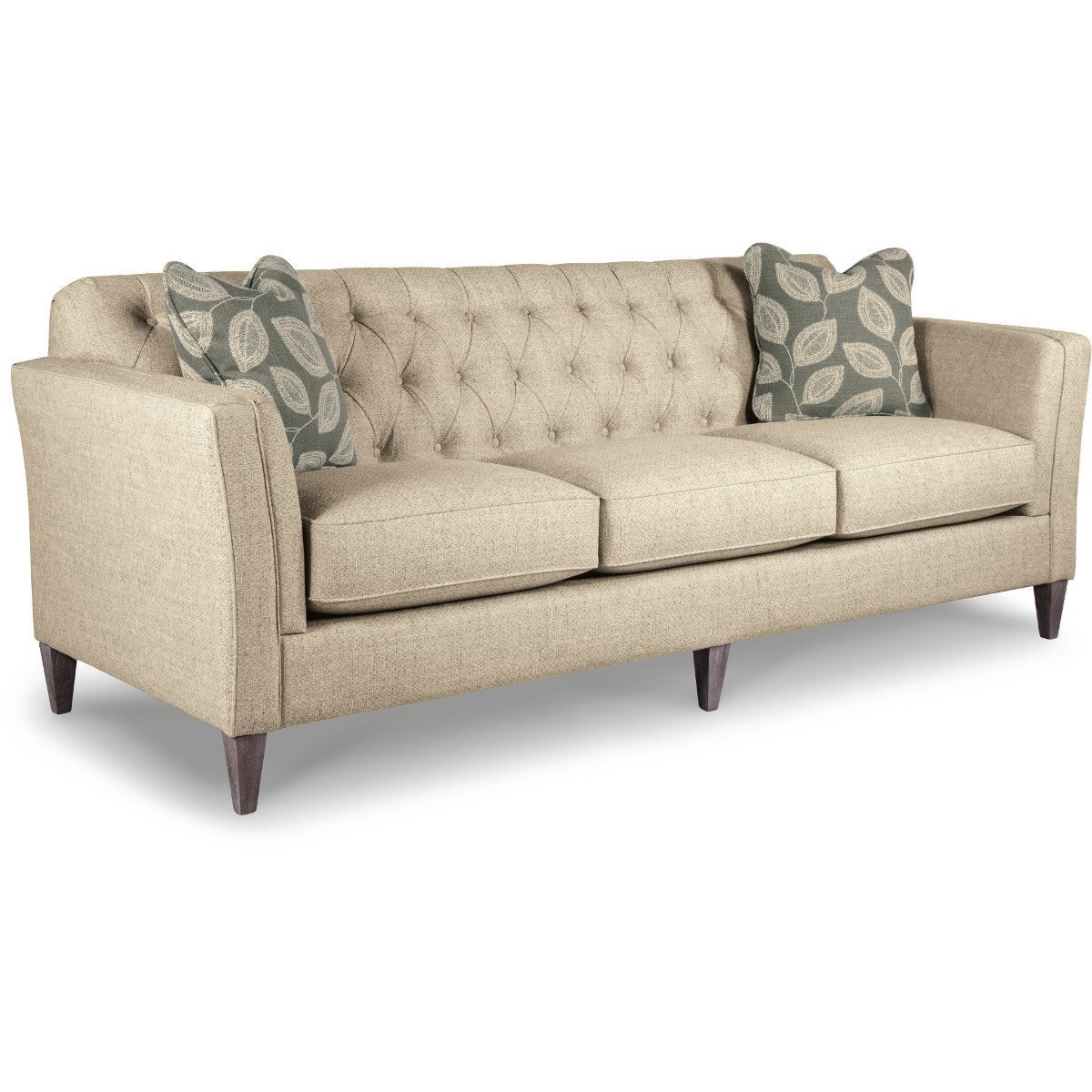 Attrayant La Z Boy Alexandria Transitional Premier Sofa With Chesterfield Button  Tufting