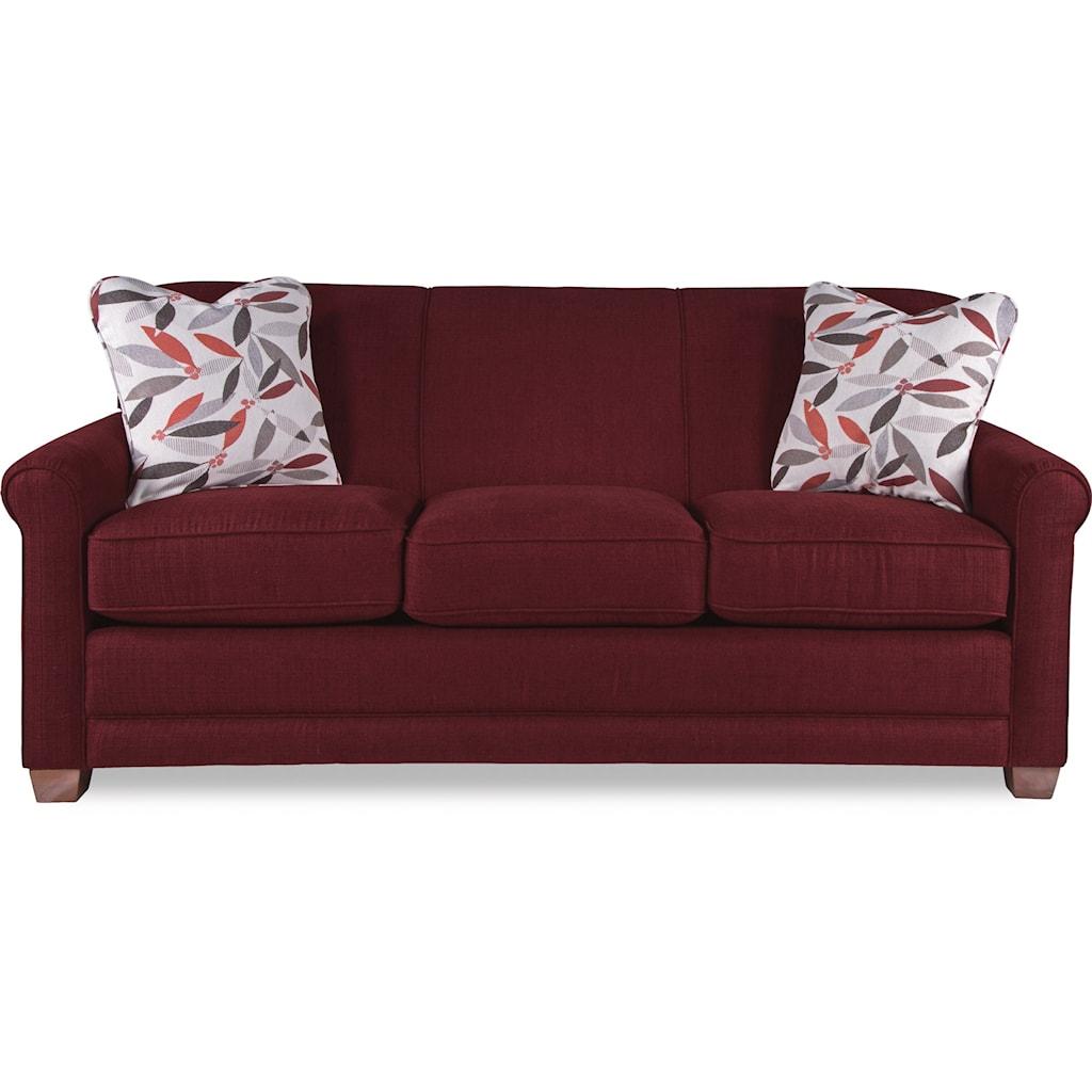 la-z-boy amanda 510600 casual sleeper sofa with premier