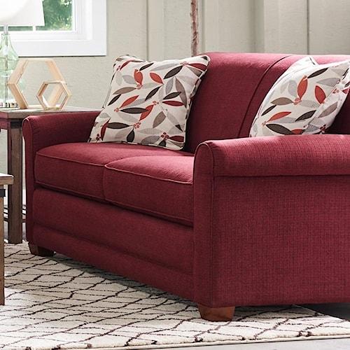 La-Z-Boy Amanda Casual Full Mattress Sleeper Sofa with Premier ComfortCore Seat Cushions and SupremeComfort Mattress