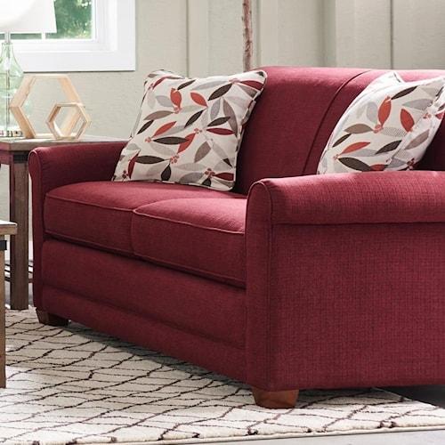 Simple Elegant La Z Boy Amanda Casual Apartment Size Sofa with Premier fortCore Cushions Minimalist - Latest apartment size sofa Top Design