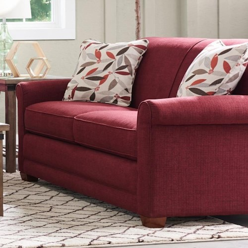 La Z Boy Amanda Casual Apartment Size Sofa With Premier Comfortcore