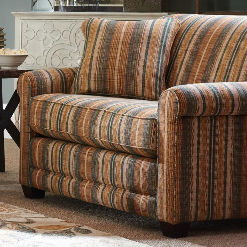 Casual Chair-and-a-half with Premier ComfortCore Cushion