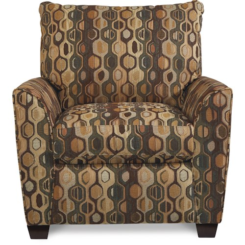 La-Z-Boy Amy Casual Chair with Premier ComfortCore Cushions