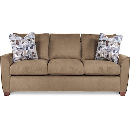 La-Z-Boy Amy Casual Supreme Comfort Queen Sleeper Sofa with Premier ComfortCore Cushions
