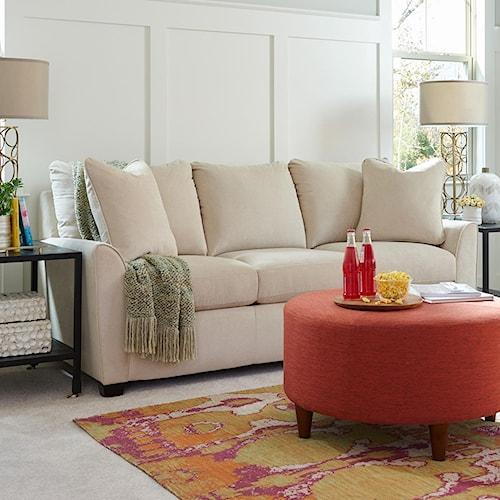 La-Z-Boy Amy Casual Sofa with Premier ComfortCore Cushions