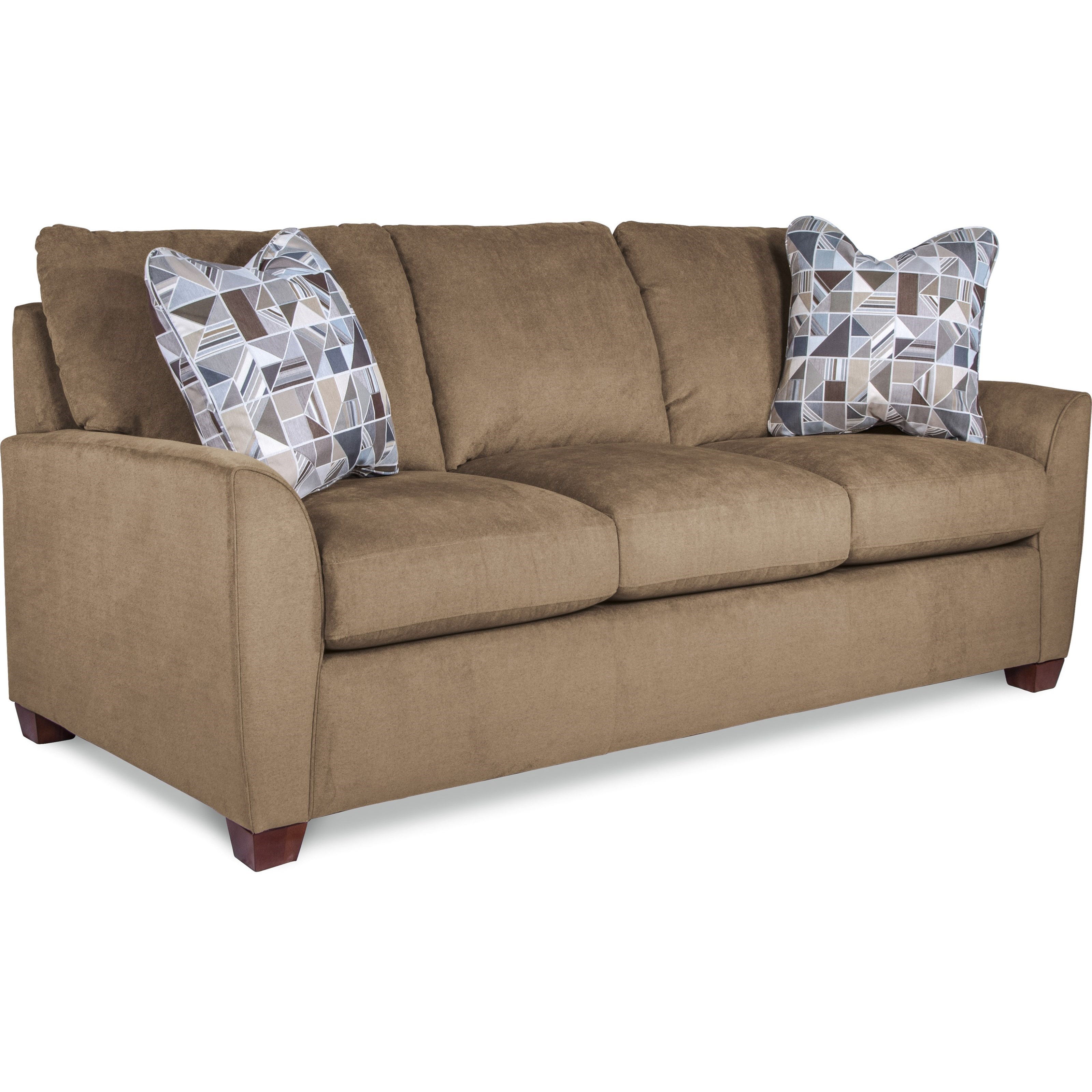Picture of: La Z Boy Amy Casual Sofa With Premier Comfortcore Cushions Conlin S Furniture Sofas