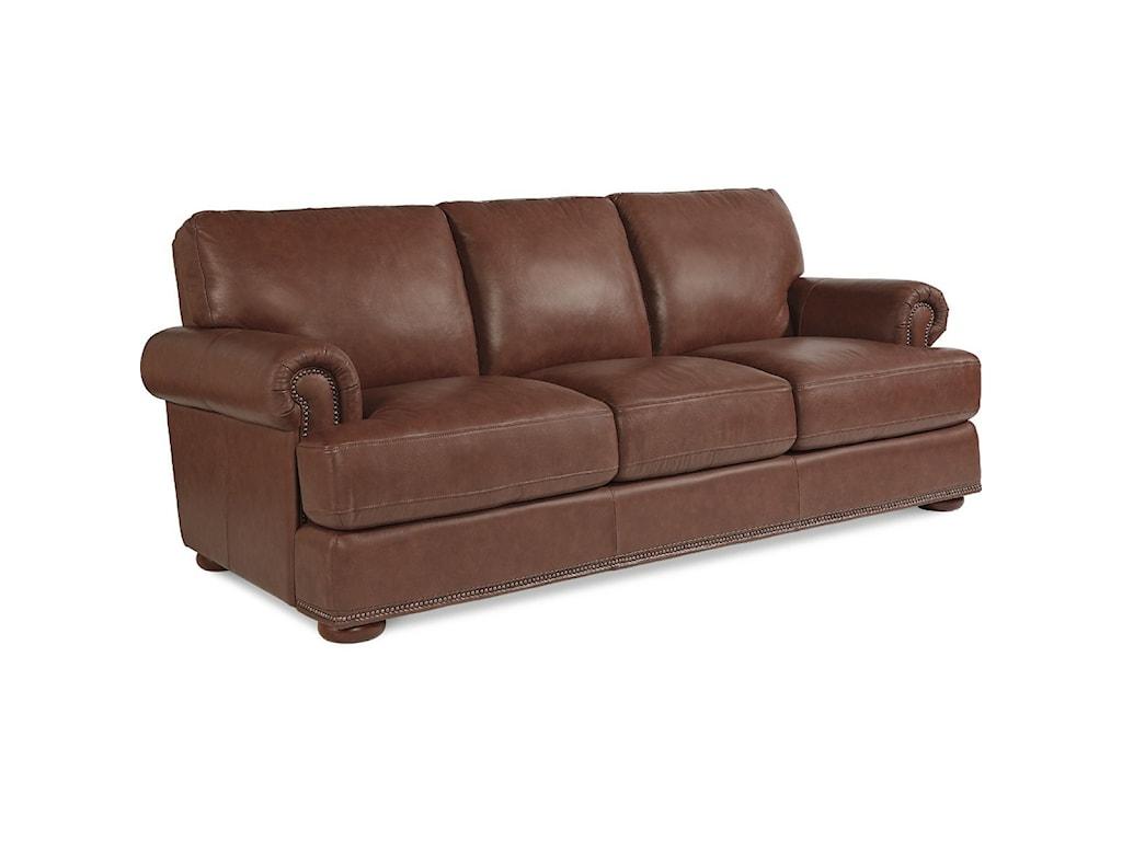 La-Z-Boy Andrew Traditional Sofa with Nailhead Trim - Great ...