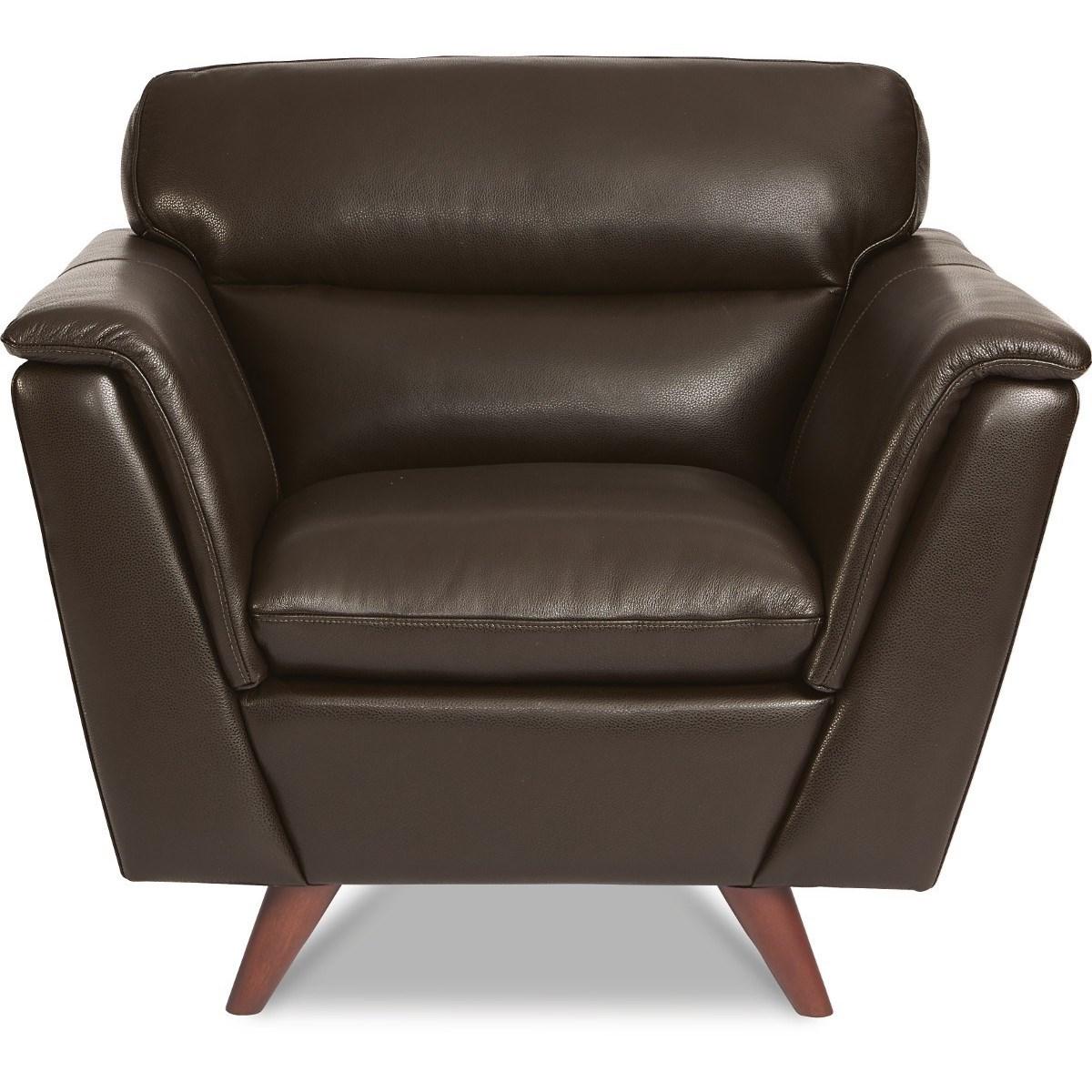 Charmant La Z Boy Arrow Mid Century Modern Leather Chair