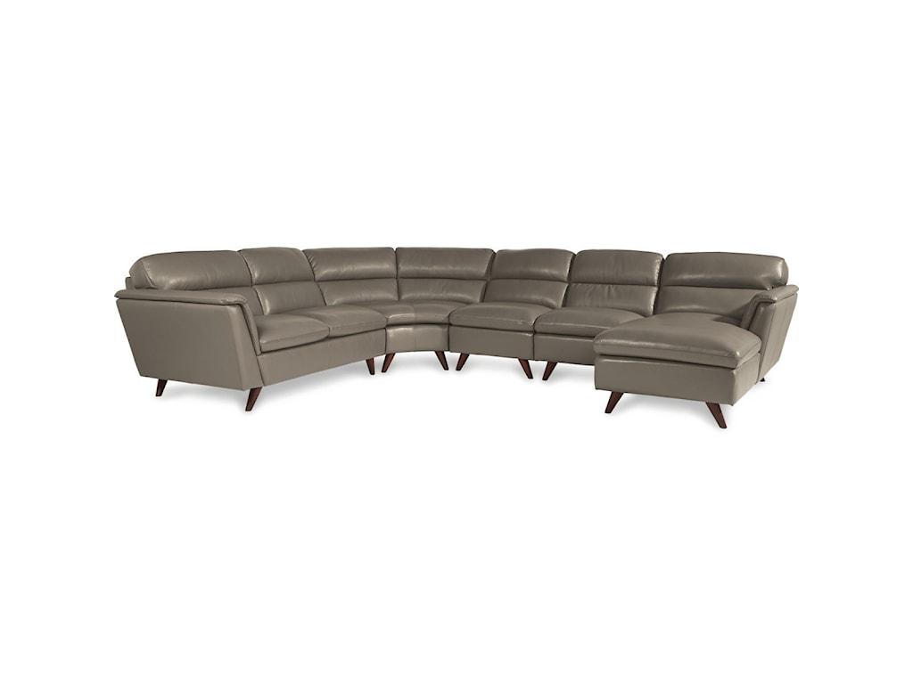 La-Z-Boy Arrow5 Pc Sectional Sofa w/ LAS Chaise