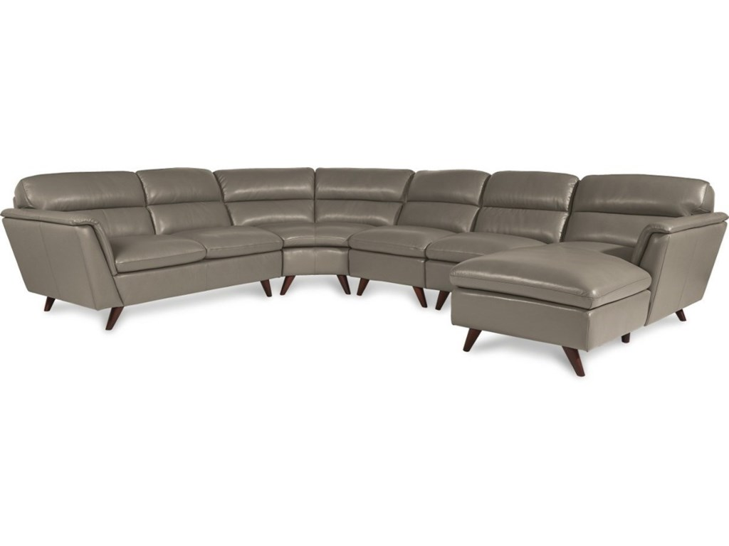 La-Z-Boy Arrow5 Pc Sectional Sofa w/ LAS Chaise