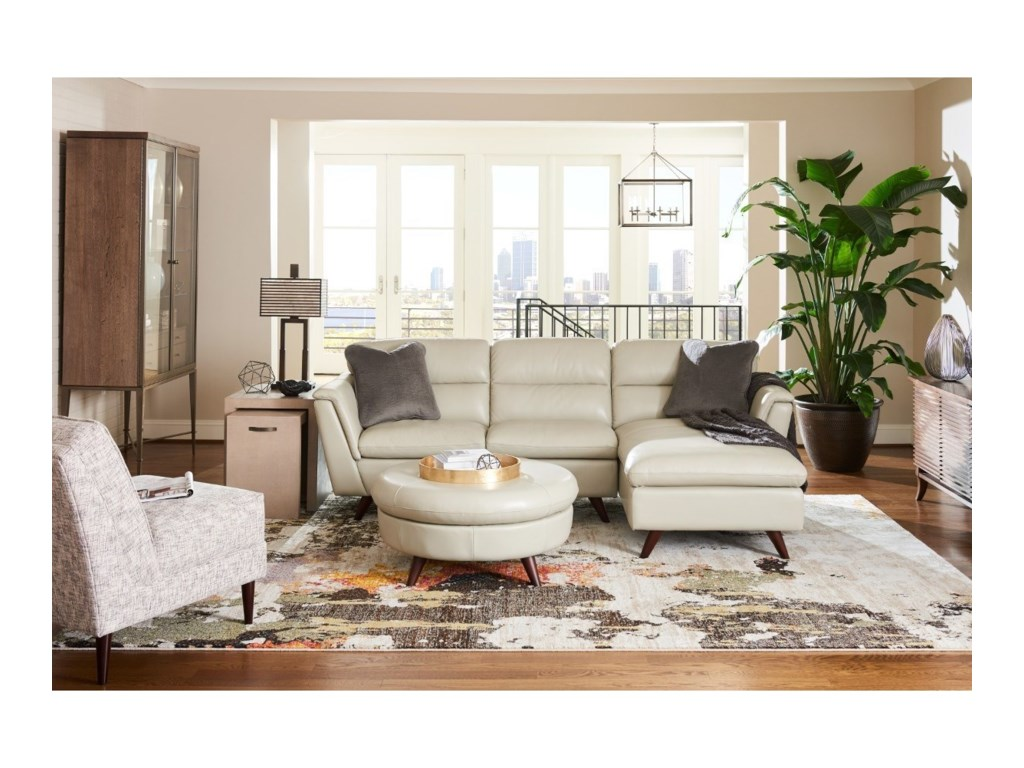 La-Z-Boy Arrow2 Pc Sectional Sofa w/ LAS Chaise