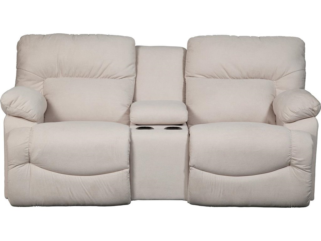 La-Z-Boy ASHERLa-Z-Time® Full Reclining Loveseat w/Console