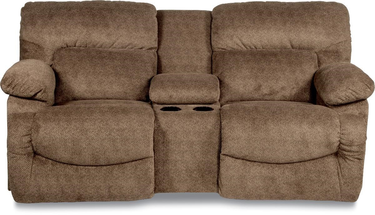 La-Z-Boy ASHER Casual La-Z-Time® Full Reclining Loveseat  sc 1 st  Boulevard Home Furnishings : recliner loveseat with cup holder - islam-shia.org