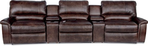 La-Z-Boy ASPEN Five Piece Reclining Home Theather Group