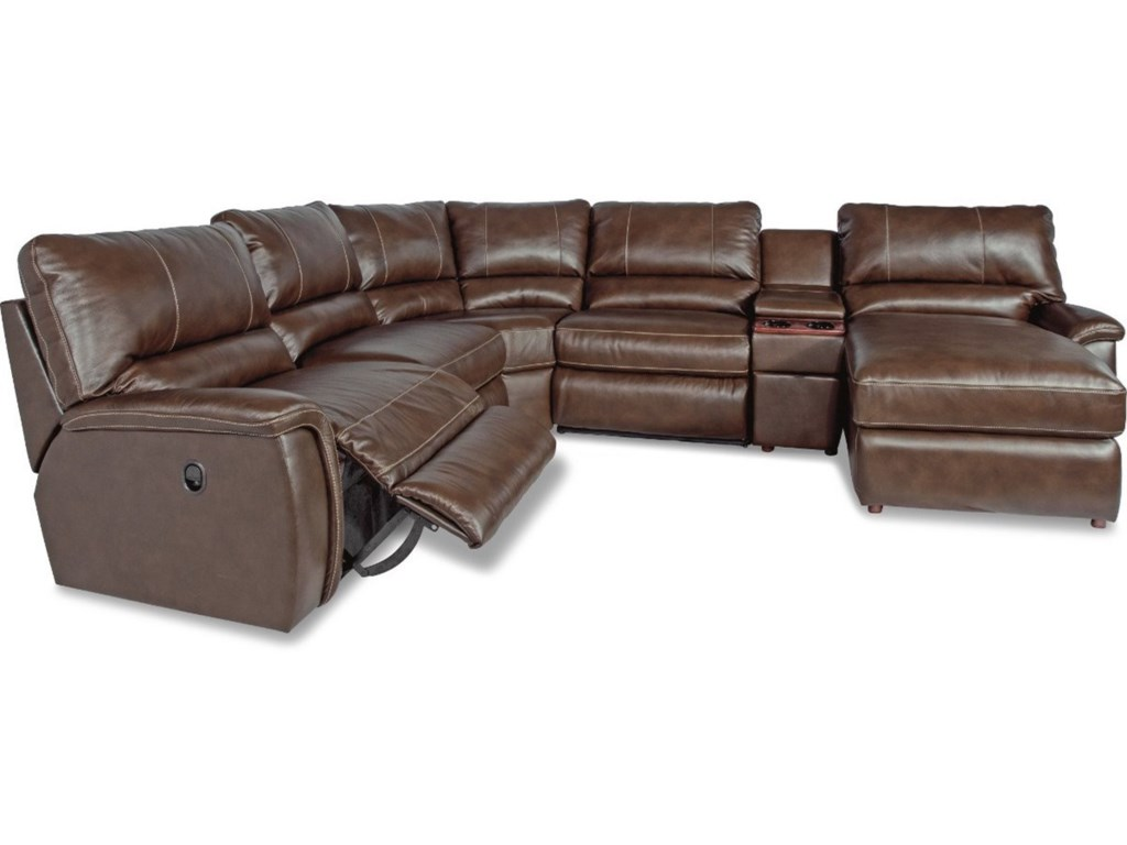 La-Z-Boy ASPEN6 Pc Pwr Reclining Sectional Sofa