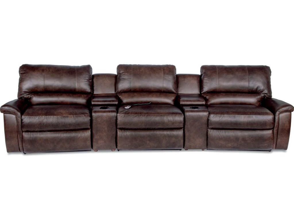 La Z Boy Aspen5 Pc Reclining Home Theather Group