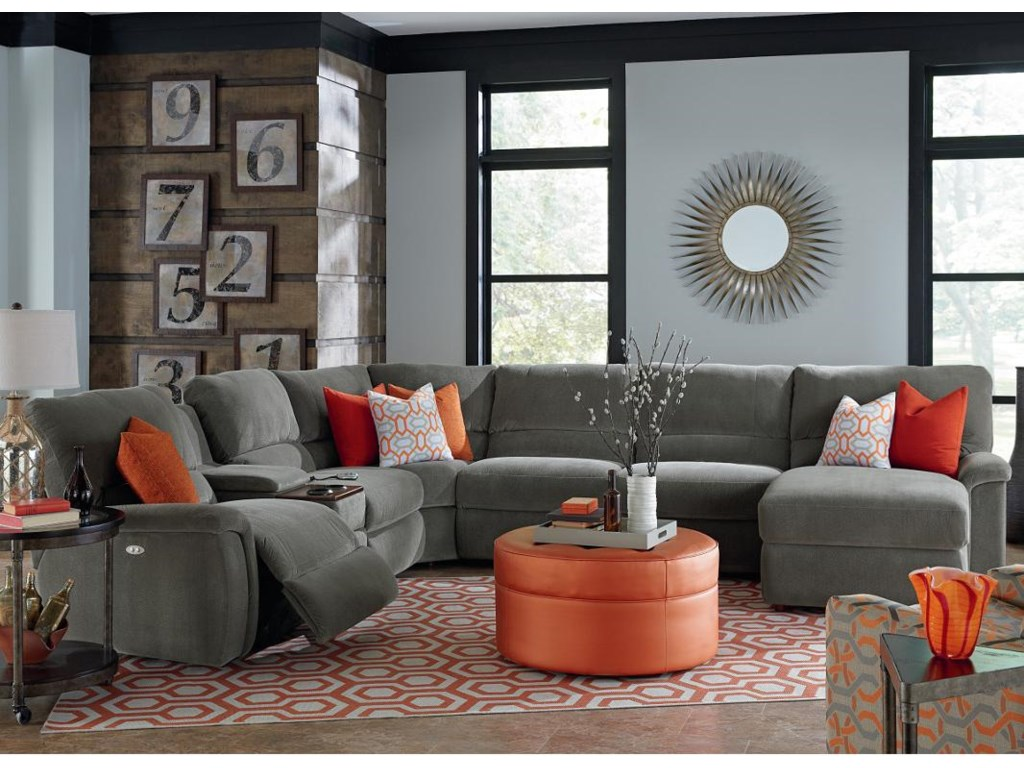 six sofa trim crosstown width flexsteel sectional products power height threshold item piece reclining pc