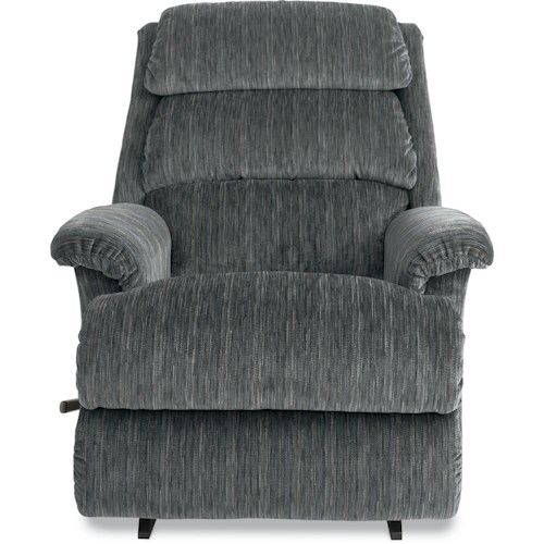 La-Z-Boy LB Reclina-Rocker with Channel-Tufted Back