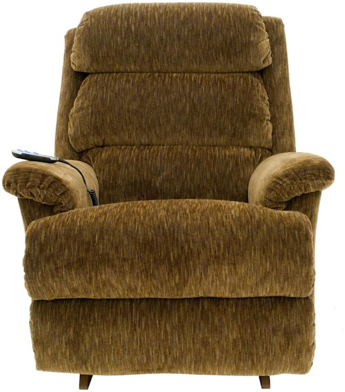 La-Z-Boy Astor Power-Recline-XRw™+ RECLINA-WAY® Recliner with Channel-Tufted Back