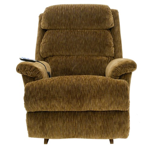 La-Z-Boy Astor Power-Recline-XR RECLINA-ROCKER® ReclinerPower-Recline-XR RECLINA-ROCKER® Recliner with Channel-Tufted Back