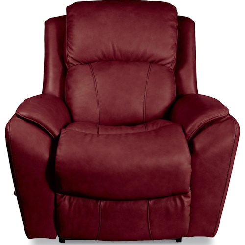 La-Z-Boy BARRETT Casual RECLINA-ROCKER® Recliner with Pillow Arms