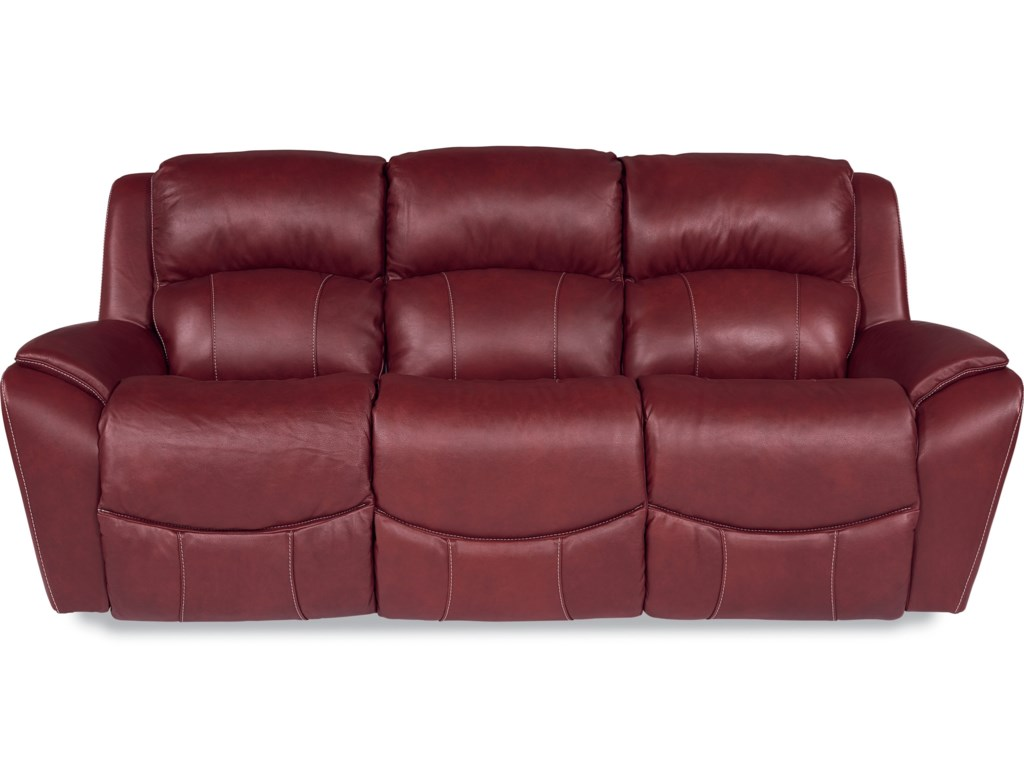 Lazy Boy Leather Recliner Sofa La Z Boy Barrett Casual