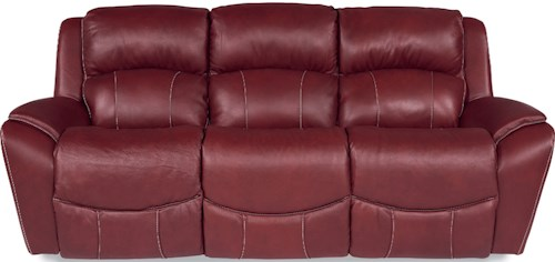 La-Z-Boy BARRETT Casual Power La-Z-Time® Full Reclining Sofa with Pillow Arms