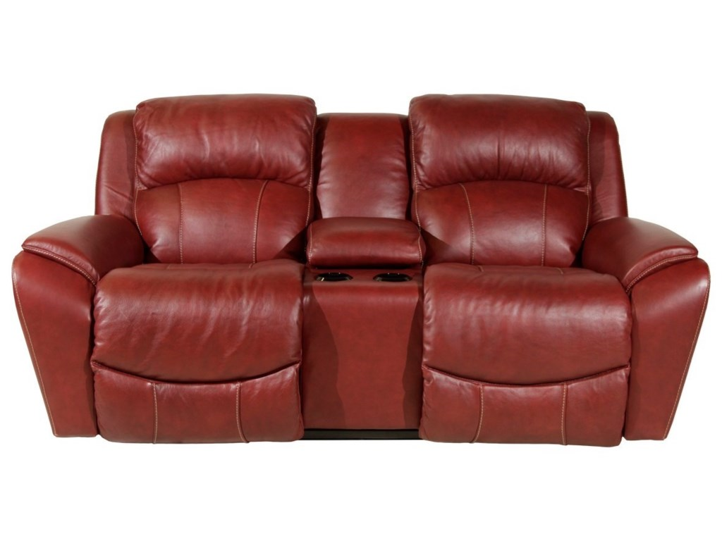 La z boy barrettpower la z time reclining loveseat w console