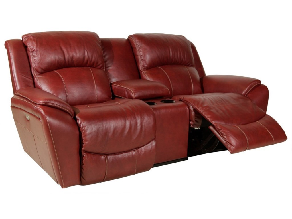 La-Z-Boy BARRETTPower La-Z-Time Reclining Loveseat w/Console