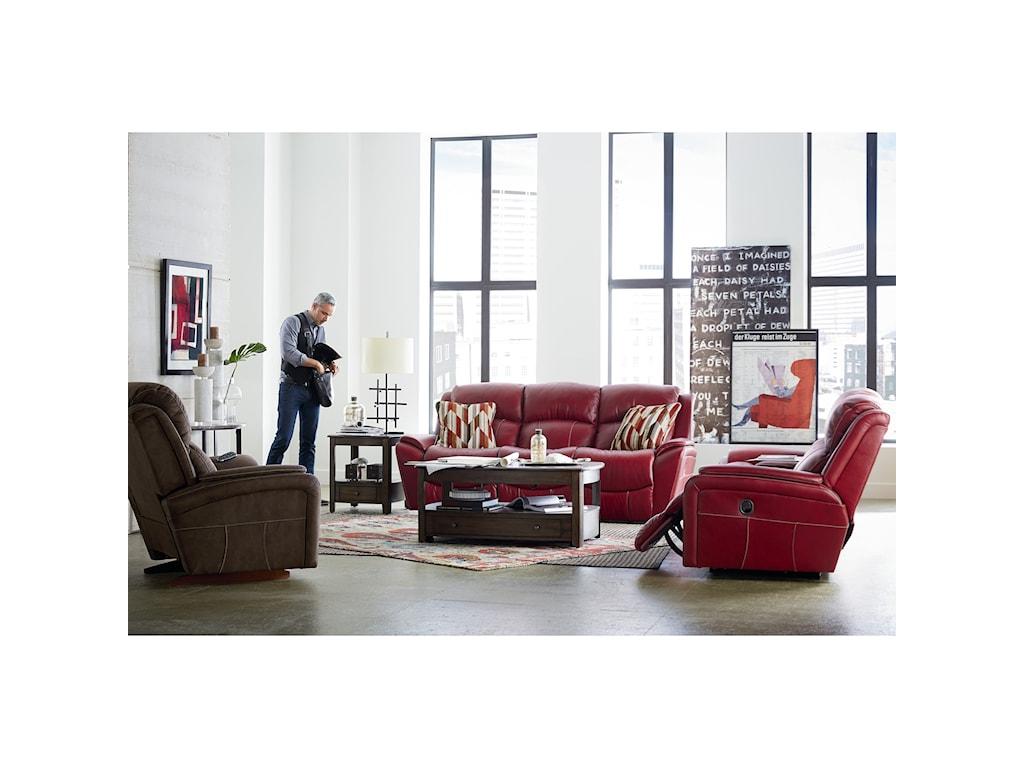 La-Z-Boy BARRETT Reclining Living Room Group | Knight Furniture ...