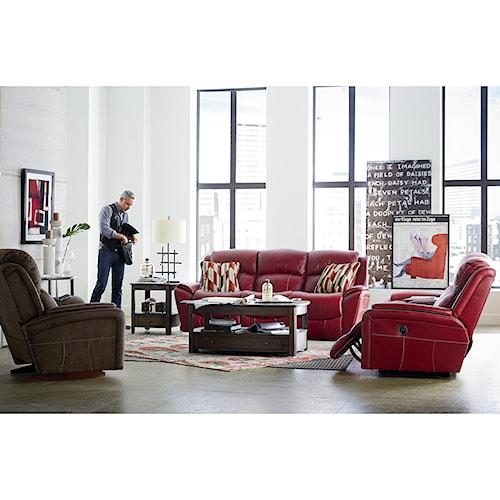 La-Z-Boy BARRETT Power Reclining Living Room Group