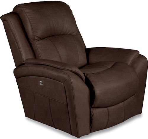 La-Z-Boy BARRETT Casual Power-Recline-XR RECLINA-ROCKER® with Pillow Arms