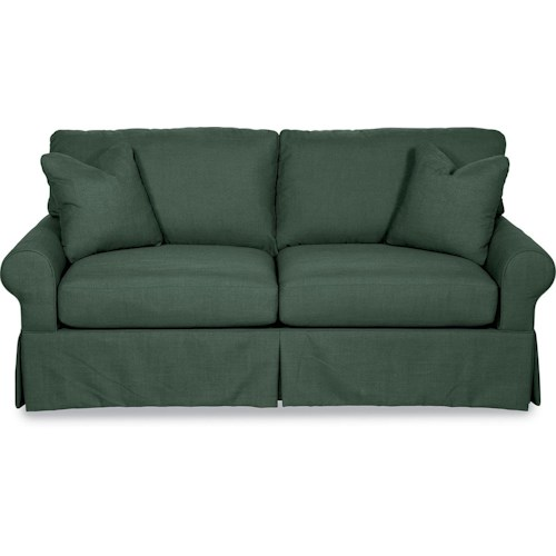 La Z Boy Beacon Hill Premier Supreme Comfort Queen Sleep Sofa With Large Rolled Arms Rotmans