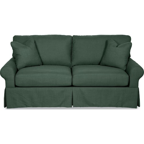 La-Z-Boy Beacon Hill Premier SUPREME-COMFORT™ Queen Sleep Sofa with Large Rolled Arms