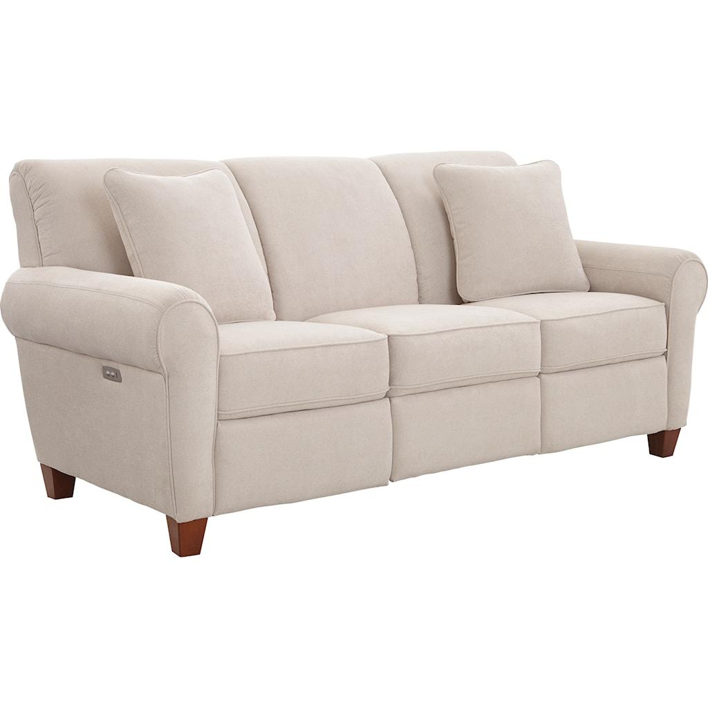 La Z Boy Bennett 91p899 Duo Power Reclining Sofa With Usb Charging