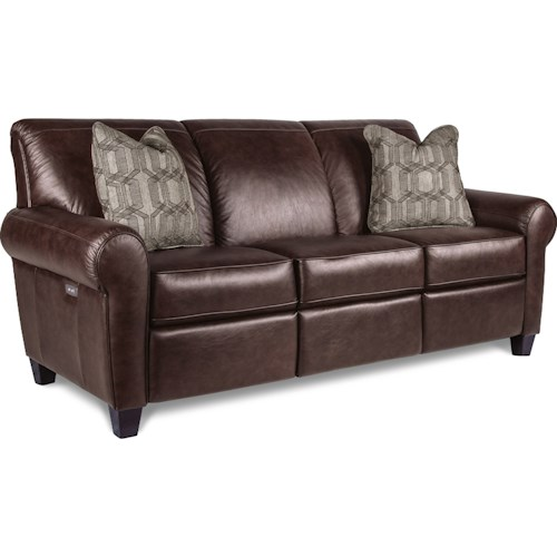 La Z Boy Bennett Duo Power Reclining Sofa With Usb