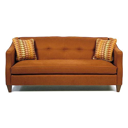 La-Z-Boy Paprikash Premier Sofa with Bench-Style Seat Cushion