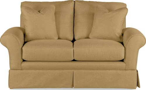 La-Z-Boy Blair Casual La-Z-Boy® Love Seat with Kick Pleat Skirt