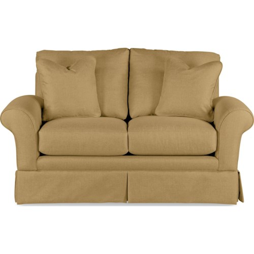 La-Z-Boy Blair Casual La-Z-Boy® Love Seat with Kick Pleat Skirt