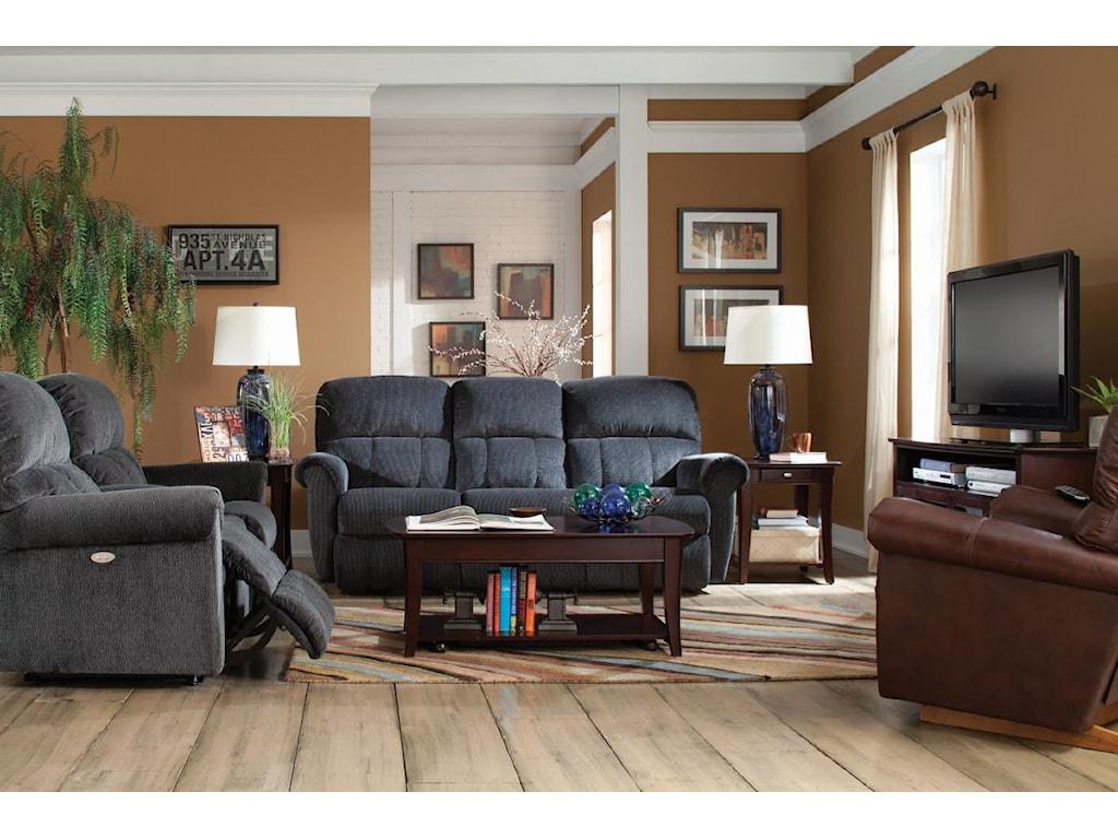 La-Z-Boy BriggsPower La-Z-Time® Full Reclining Sofa