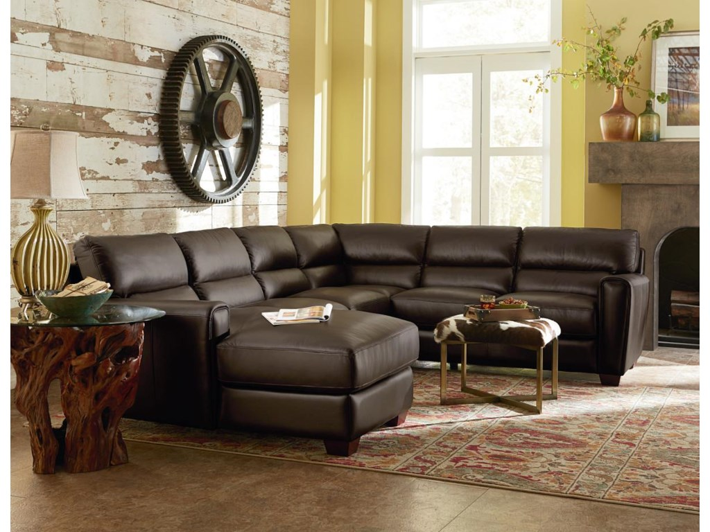 La-Z-Boy BRODY3 Pc Sectional Sofa w/ LAF Chaise