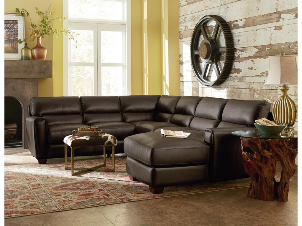 La-Z-Boy BRODY3 Pc Sectional Sofa w/ RAF Chaise