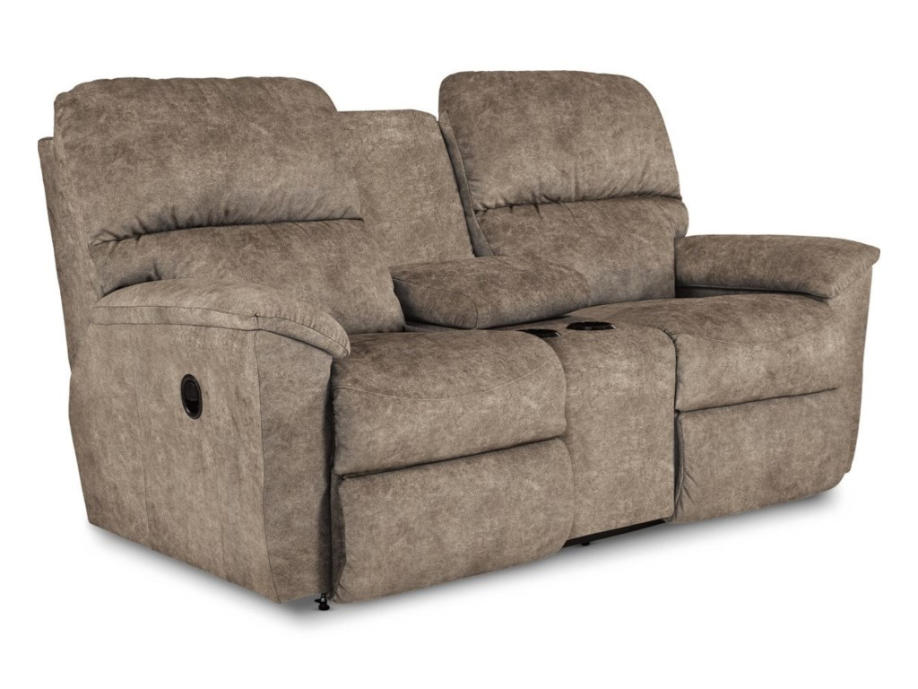 La-Z-Boy BrooksPower Full Reclining Loveseat w/Console