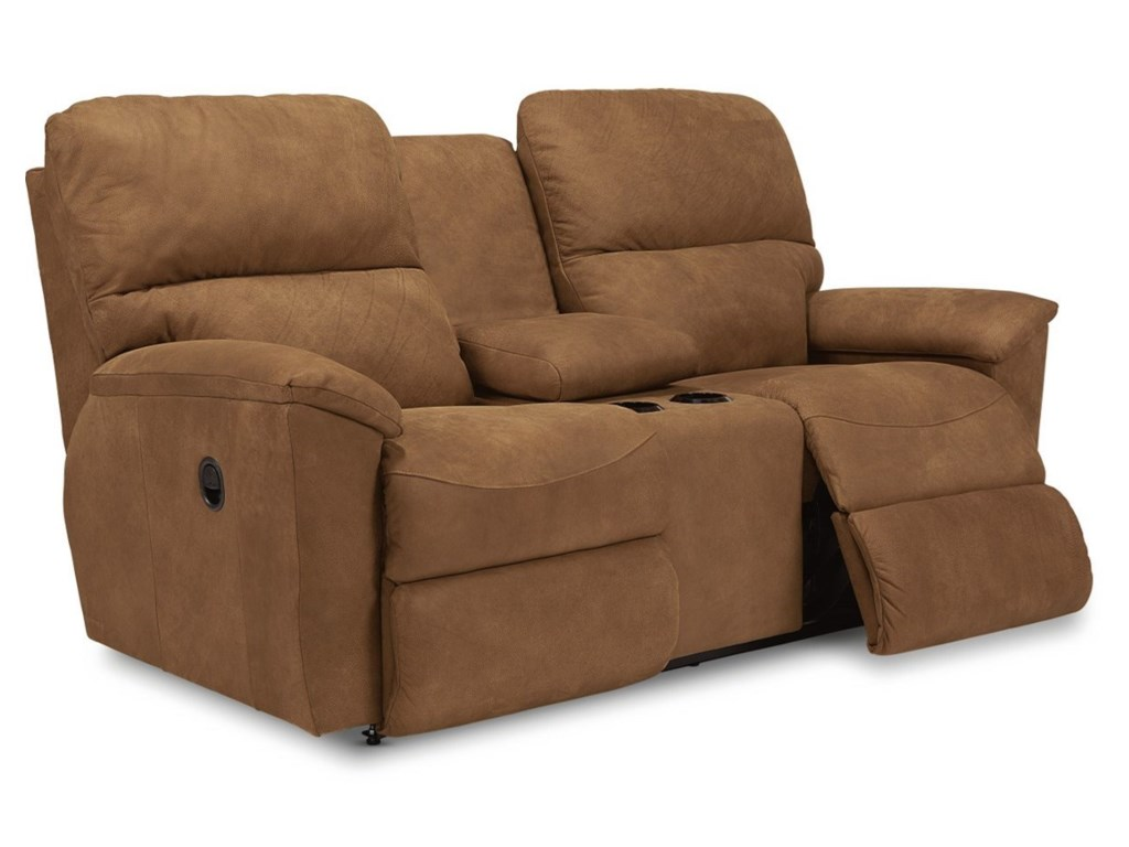La-Z-Boy BrooksFull Reclining Loveseat w/Console