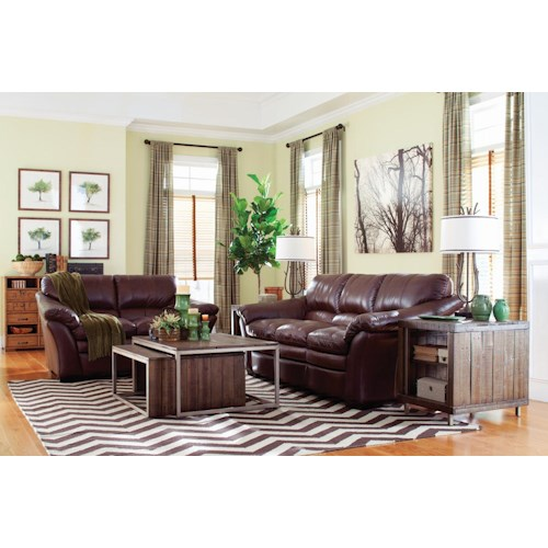 La-Z-Boy Burton Stationary Living Room Group