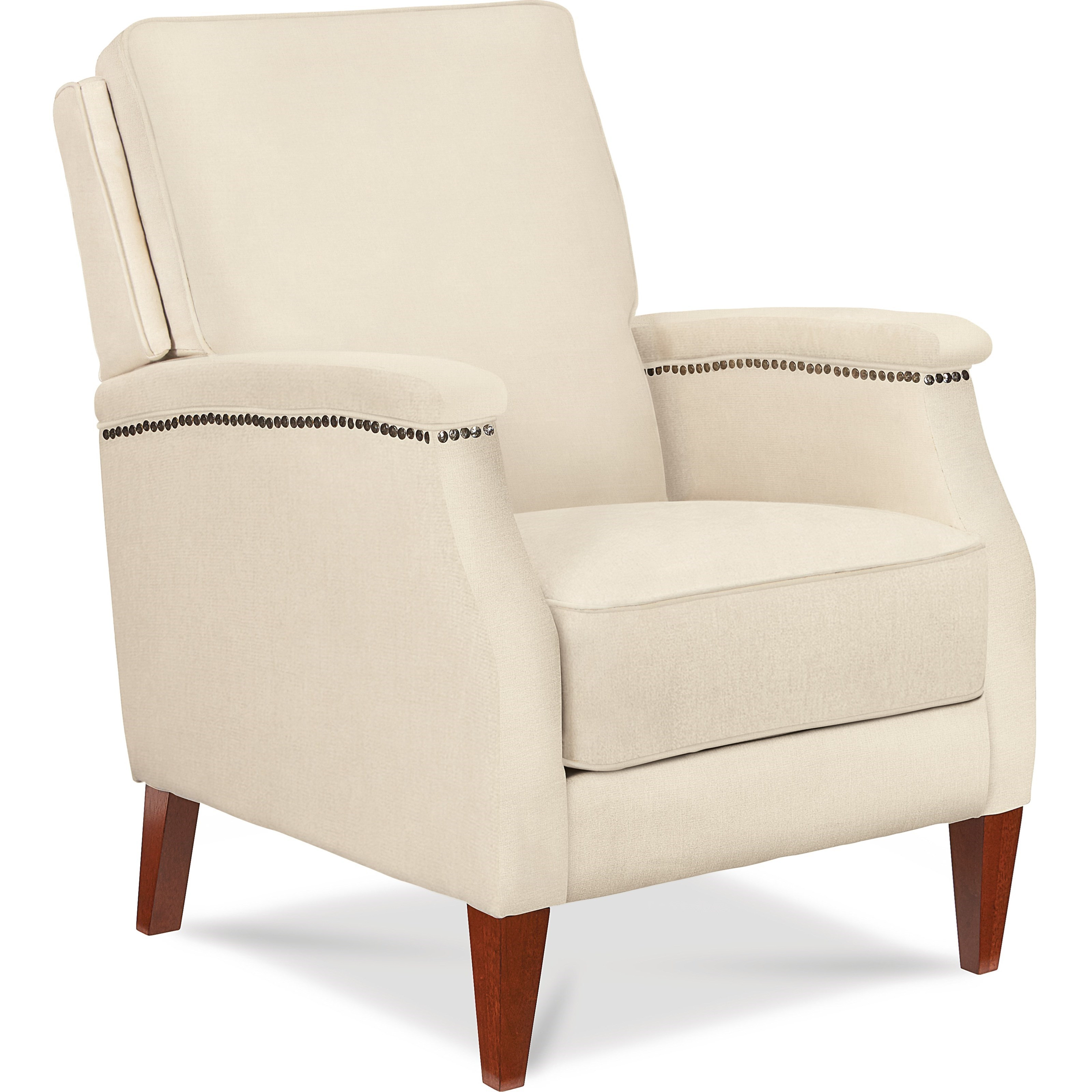 La Z Boy Cambridge Press Back Recliner With Wing Back And Track Arms