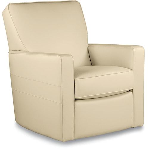 La-Z-Boy Chairs Midtown Contemporary Swivel Glider Chair