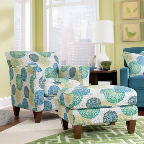La Z Boy Chairs Allegra Chair Amp Ottoman Set Furniture