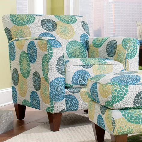 La-Z-Boy Chairs Allegra Stationary Chair with Flared Arms